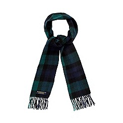 Hammond & Co. by Patrick Grant - Green blackwatch tartan scarf