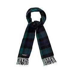 Hammond & Co. by Patrick Grant - Green blackwatch tartan scarf