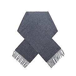 RJR.John Rocha - Grey lambswool and cashmere scarf in a gift box