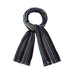 RJR.John Rocha - Blue wool scarf in a gift box