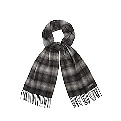 RJR.John Rocha - Grey ombre scarf in a gift box