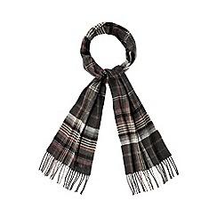 J by Jasper Conran - Grey checked scarf