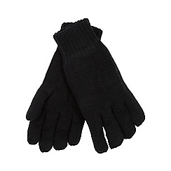 Heat Holders - Black fleece lined thermal gloves