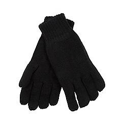 Heat Holders - Black fleece lined thermal gloves