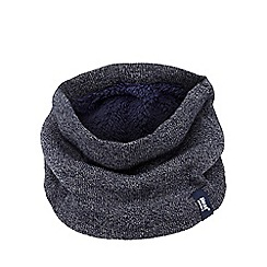 Heat Holders - Navy fleece lined neck warmer