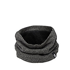Heat Holders - Grey fleece lined neck warmer