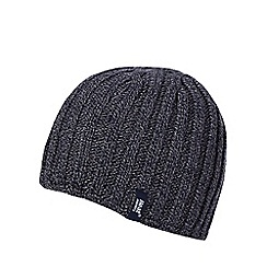 Heat Holders - Navy fleece lined thermal beanie hat