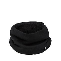 Heat Holders - Black fleece lined neck warmer
