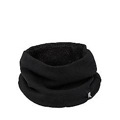 Heat Holders - Black fleece lined neck warmer