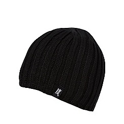 Heat Holders - Black fleece lined thermal beanie hat