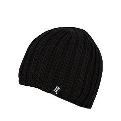 Heat Holders - Black fleece lined thermal beanie hat