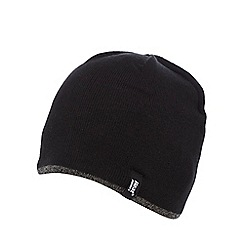 Heat Holders - Black 'Heatweaver' thermal beanie hat