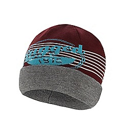 Jack & Jones - Dark red 4-in-1 reversible beanie hat
