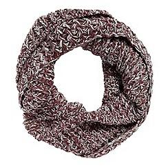 FFP - Wine chunky twisted yarn snood