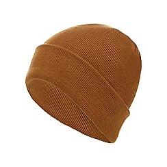 Red Herring - Yellow plain beanie hat