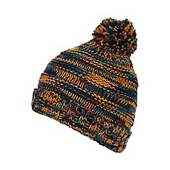 Red Herring - Multi-coloured fleece lined bobble hat