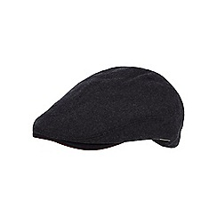J by Jasper Conran - Grey wool blend flat cap