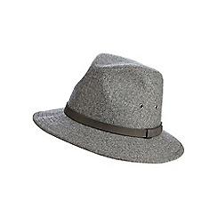 Osborne - Grey wool blend ambassadors hat