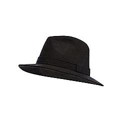Osborne - Brown wool blend ambassador hat