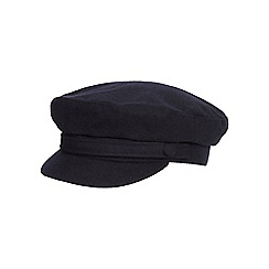 Hammond & Co. by Patrick Grant - Navy mariner cap with wool