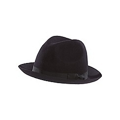 Hammond & Co. by Patrick Grant - Navy trilby hat