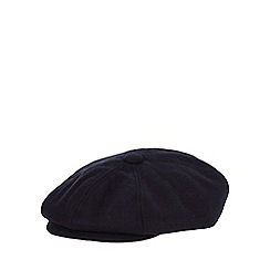 Hammond & Co. by Patrick Grant - Navy panelled baker boy cap