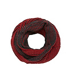 Mantaray - Red plaited snood