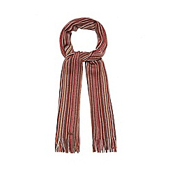 Mantaray - Red striped scarf