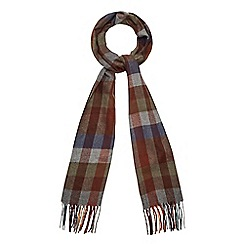 RJR.John Rocha - Multi-coloured checked scarf