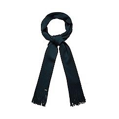 J by Jasper Conran - Dark green pure Merino wool scarf