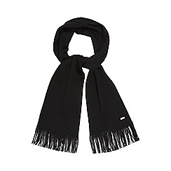 J by Jasper Conran - Black Merino wool scarf