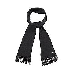 J by Jasper Conran - Grey Italian Merino wool scarf