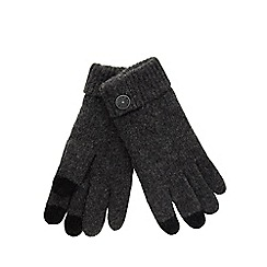 RJR.John Rocha - Grey touch screen gloves