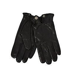 RJR.John Rocha - Black leather driving gloves