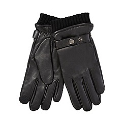 Hammond & Co. by Patrick Grant - Black leather gloves