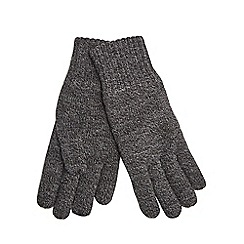 Maine New England - Grey thermal heat insulating gloves