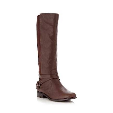 Good for the Sole - Brown EEE wide fit riding boots