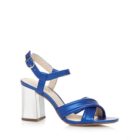 Red Herring - Blue strap high sandals