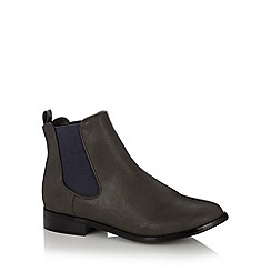 Red Herring - Grey chelsea boots