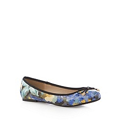 Red Herring - Blue floral print pumps