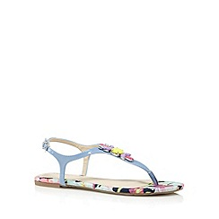 Red Herring - Green jewel synthetic flat sandals