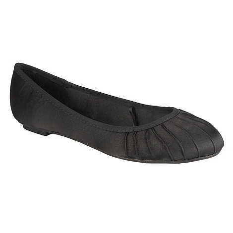 Red Herring - Black ballet pumps