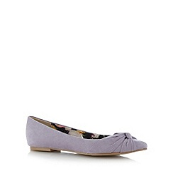 The Collection - Lilac knotted toe pumps