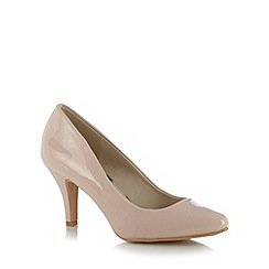 The Collection - Pale pink patent court shoes