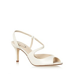 Debut - Light gold shimmer scale mid sandals