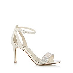 Debut - Ivory stone high sandal shoes