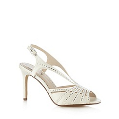 Debut - Ivory diamant  high sandals
