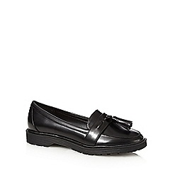 Red Herring - Black classic loafers