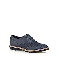 Mantaray - Navy lace up brogues