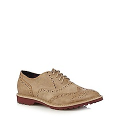 Mantaray - Taupe lace up brogues